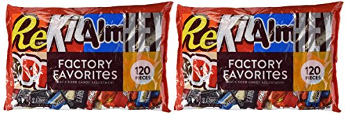 Hershey's Variety Factory Favorites, Snack Size, 120-Count (Pack of - Store Hershey Factory