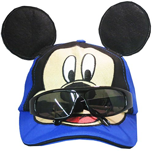 Disney Mickey Mouse Boys Baseball Cap with Removable Sunglasses - Disney For Sunglasses Kids