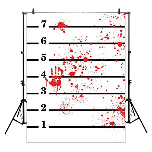 Allenjoy 6x8ft photography backdrops Mugshots Mug shot with