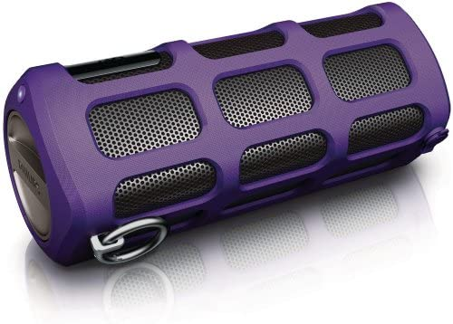Philips Shoqbox Portable Bluetooth Speaker SB7260 37 Purple Discontinued