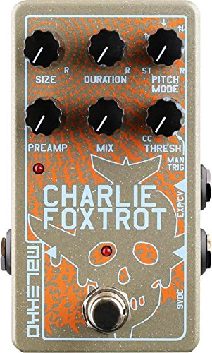 Malekko Heavy Industry Malekko Charlie Foxtrot Digital Buffer Pedal by Malekko Heavy Industry