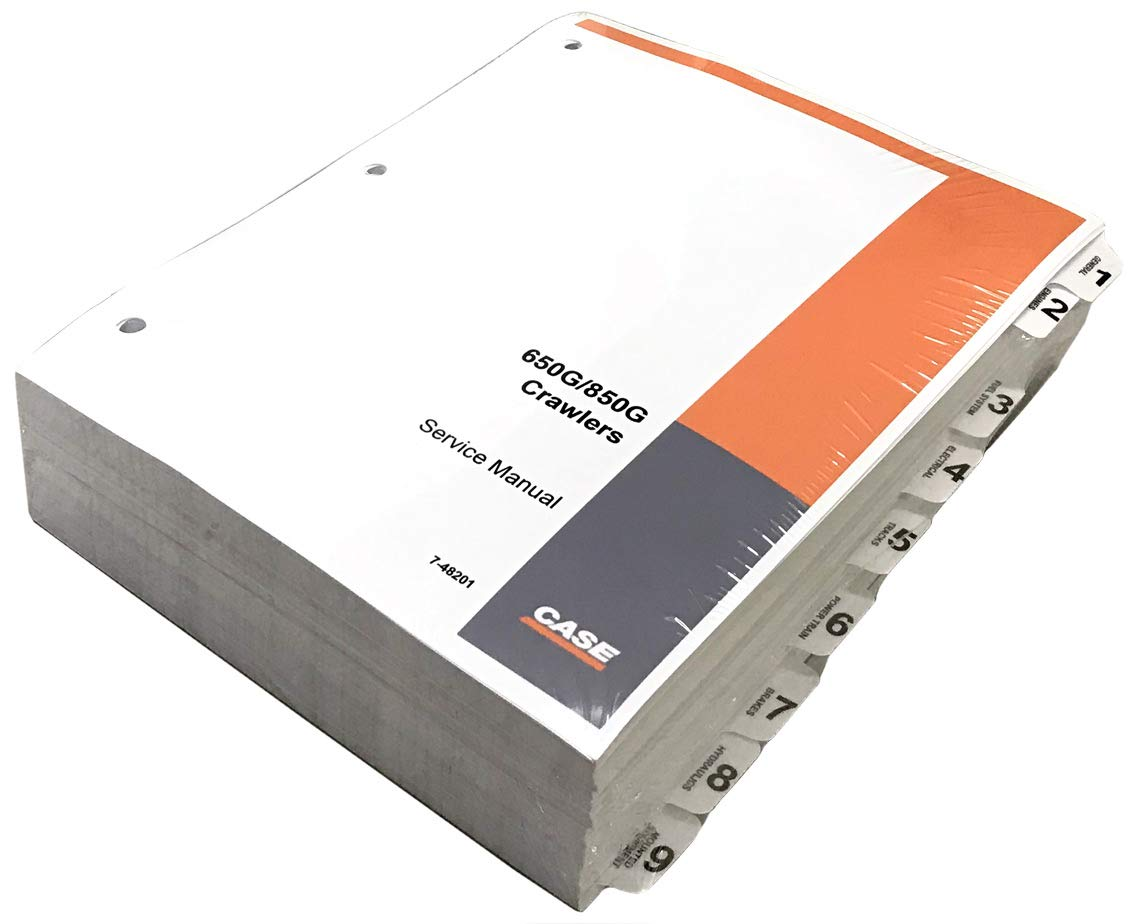 Case 650G, 850G Crawler Dozer Workshop Repair Service Manual - Part Number # 7-48201