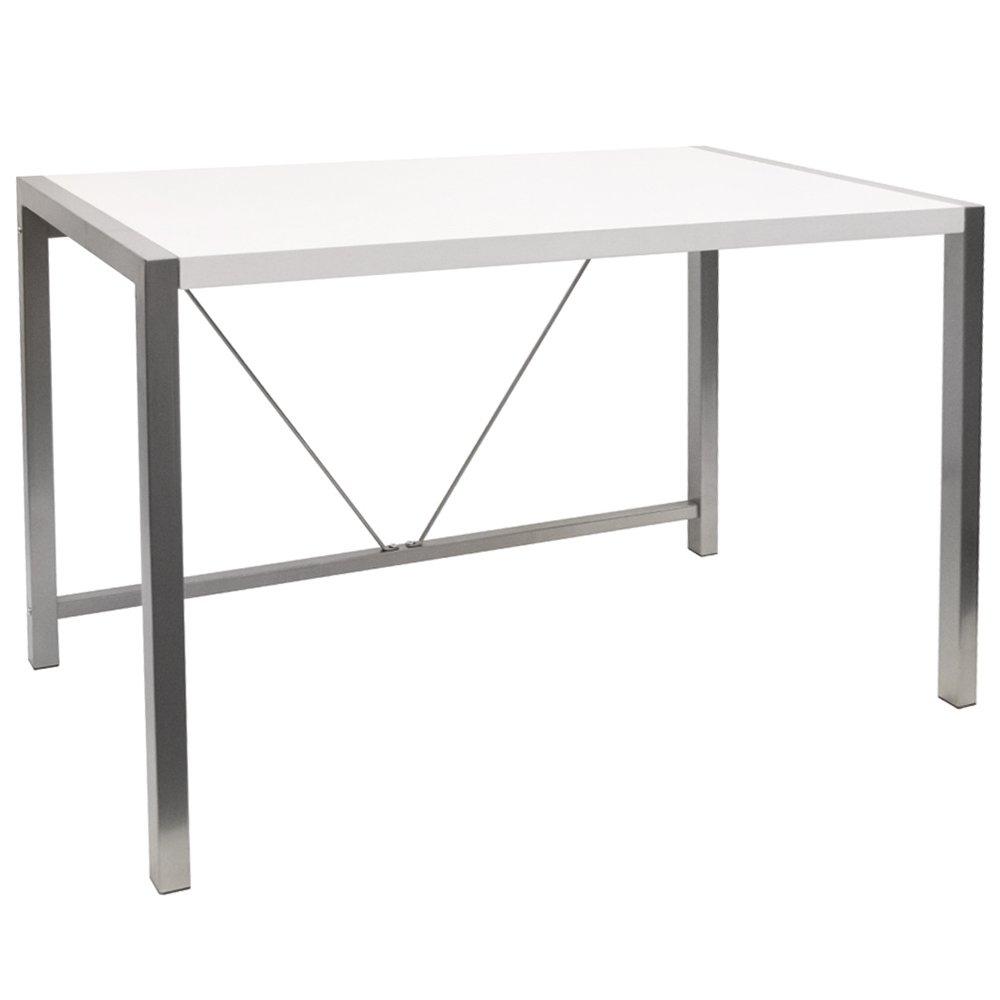 WATSONS APOLLO - Home/Office Computer Desk/Workstation - White
