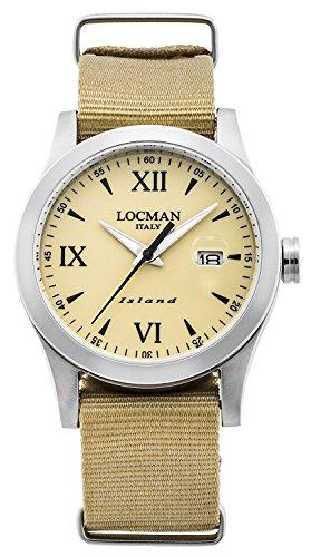 LOCMAN watch ISLAND 0614A04-00SABKNH Men's