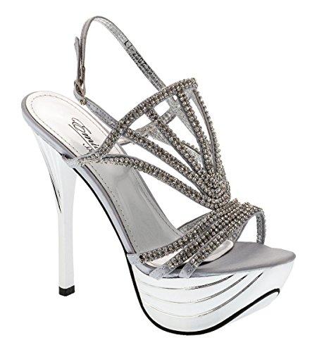Shayenne - Plataforma Mujer plata