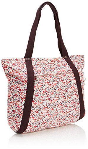 Kipling CELESTRA - Bolso de hombro de material sintético mujer multicolor - Mehrfarbig (Pop Floral Pr)