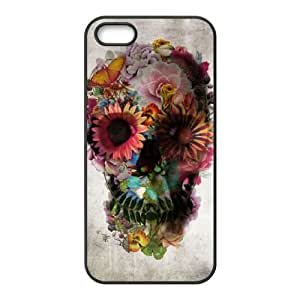 Customized Cover Case for Iphone 5,5S with Skull shsu_1984433 at SHSHU