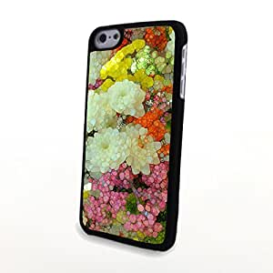 Generic Liveliy Fresh Colorful Flowers Matte Pattern PC Phone Cases fit for Flowery Beautiful iPhone 5C Case