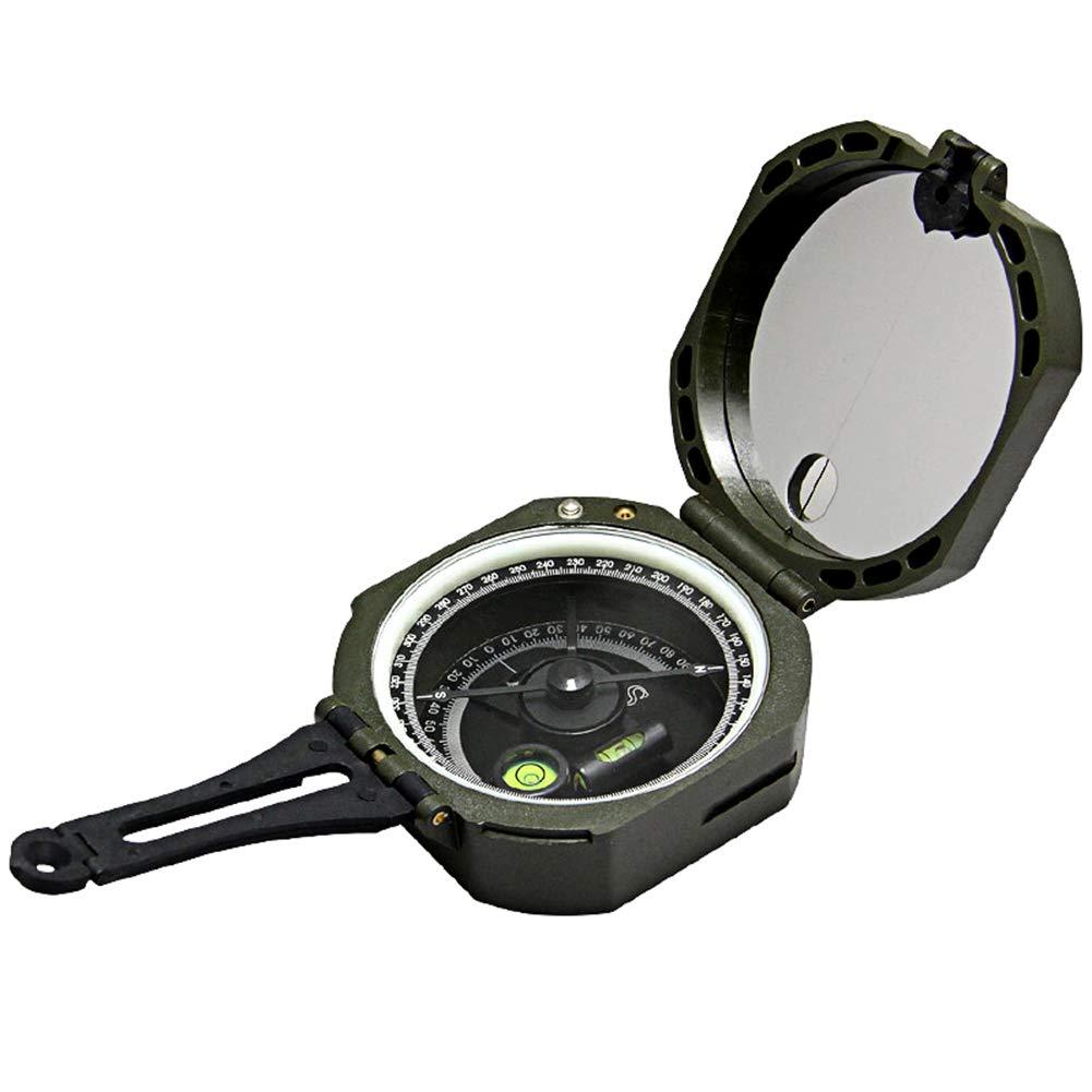 MSQL Wandern Kompass Tragbare Kartenmesser Entfernungsrechner, Camping Fluoreszierender Kompass, für Camping Outdoor Scout