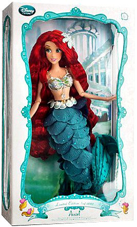Disney The Little Mermaid Exclusive Limited Edition Ariel Doll - - Collectible Dolls Disney