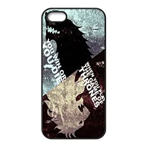 (WPQO) Game of Thrones iPhone 4 4s Cell Phone Case Black