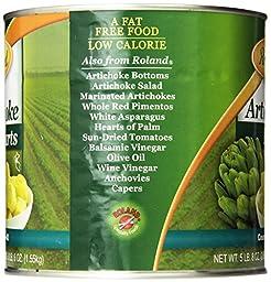 Roland Foods Artichoke Hearts, 30-40 Count, 88 Ounce