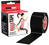 Rocktape Kinesiology Tape for Athletes, Water Resistant, Reduce Pain and Injury Recovery, 180% Elastic Stretch, 1 Roll, 16.4 Feet