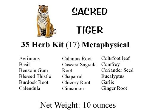 Sacred Tiger 35 Herb Kit Metaphysical, Wicca, Pagan, Culinary, Tea, Ritual by Sacred Tiger (Image #2)