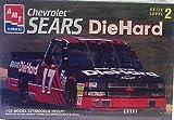 AMT Ertl 8453 #17 Chevrolet Sears DieHard Racing Pickup - Plastic Model Kit - 1:25 Scale - Skill Level 2
