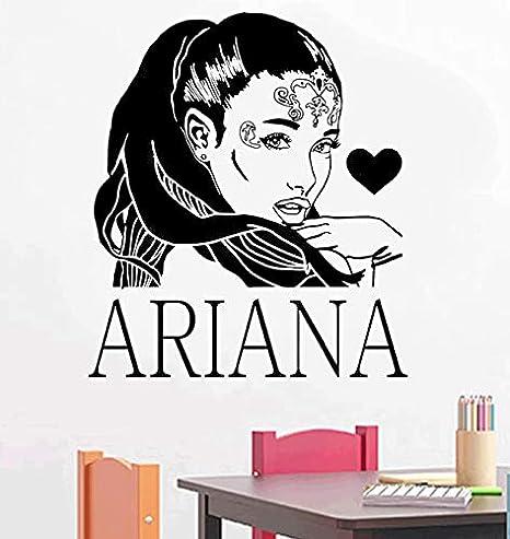 xingzhi Cartel R&B Cantante Estrella Ariane Grande Tatuajes De ...