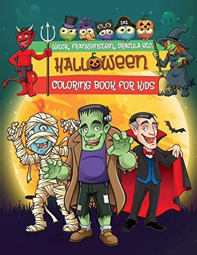 Halloween Coloring Book for Kids: 30 High Quality