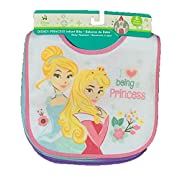 Disney Princess Baby Girls 6 Pack Bibs