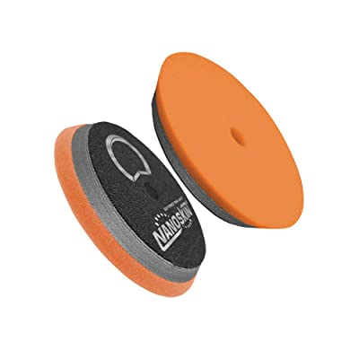 "Nanoskin Orange 6"" HD Hybrid Foam PAD-Light Cutting [NAA-HDHFP-62]: Automotive"