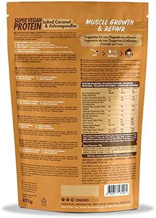 Super Vegan Protein Caramelo Salado y Ashwagandha