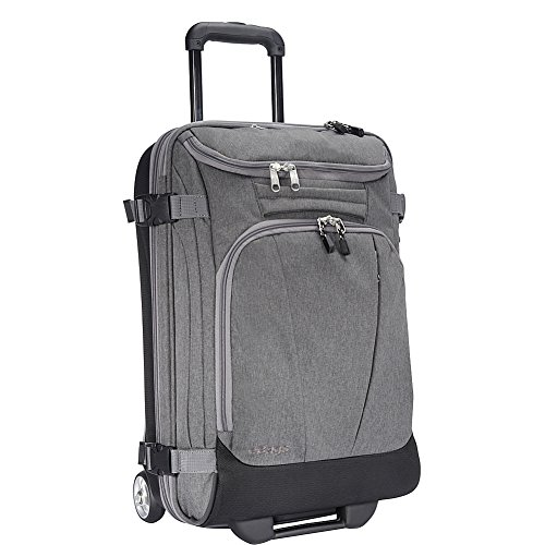 eBags TLS Mother Lode Mini 21'' Wheeled Carry-On Duffel (Heathered Graphite) by eBags