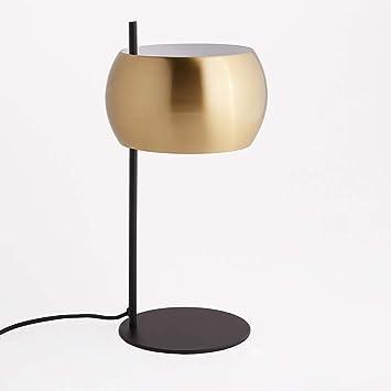 Interieurs Métal Table Et Lampe La Noir LaitonElori Redoute De E9IWDH2