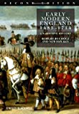 Early Modern England, 1485-1714, Robert Bucholz and Newton Key, 1405162759
