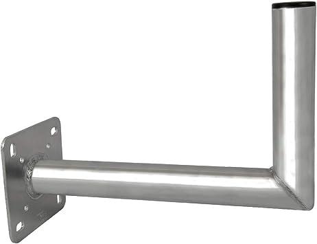 PremiumX Soporte de Pared para Antena de satélite 35 cm de Aluminio ALU TÜV-Certificado Sat