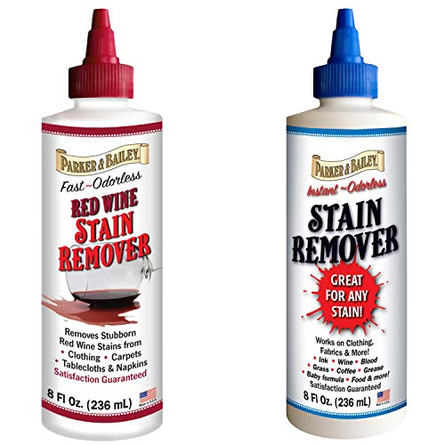(Parker and Bailey Stain Remover Bundled with Red Wine Stain Remover )