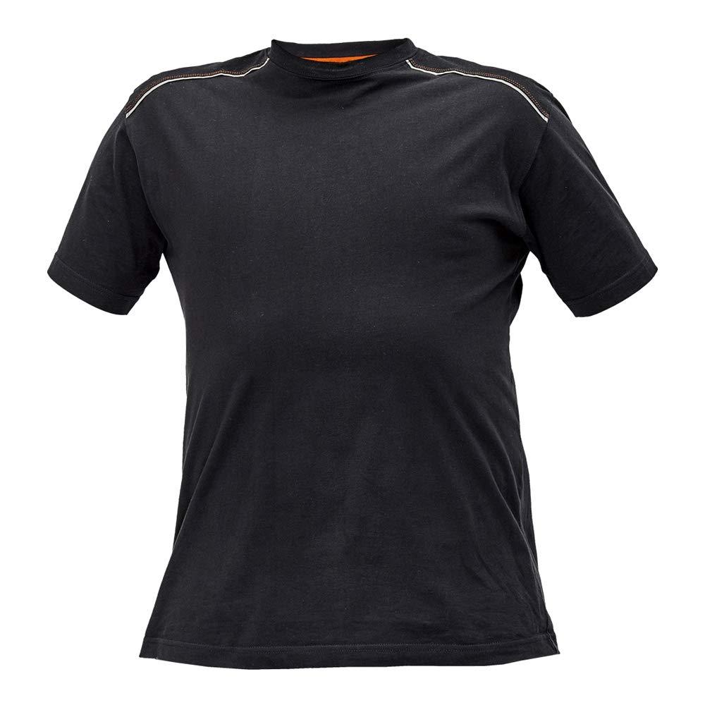 Antracite//Arancione CERVA 0304 0110 A2 M Knoxfield T-shirt Confezione da 100 Medium