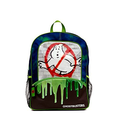 Ghostbusters No Ghost Slimer 16 Inch Backpack]()