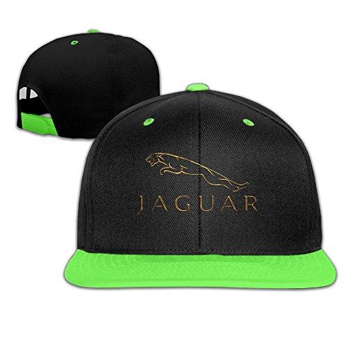 top-bee-boys-and-girls-jaguar-hip-hop-baseball-caps-hats-kellygreen