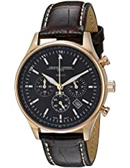 Jorg Gray Unisex JG6500-22 Analog Display Quartz Brown Watch