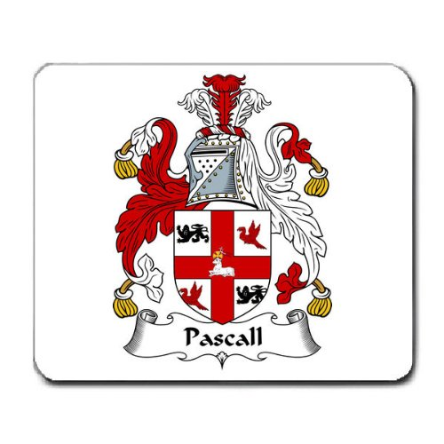 pascall-family-crest-coat-of-arms-mouse-pad