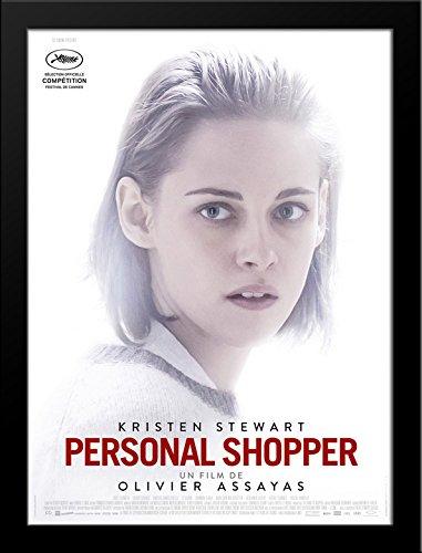 Amazon Com Personal Shopper 28x34 Large Black Wood Framed