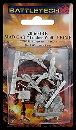BATTLETECH 20-603RE Mad Cat Timber Wolf Prime by BATTLETECH: Amazon.es: Juguetes y juegos
