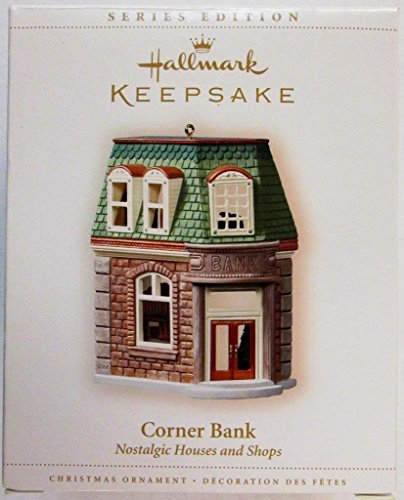 - HALLMARK KEEPSAKE CORNER BANK NOSTALGIC HOUSES AND SHOPS 2006