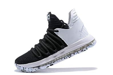 CYYTC - Zapatillas de Baloncesto para Hombre, (Coal Black/White ...