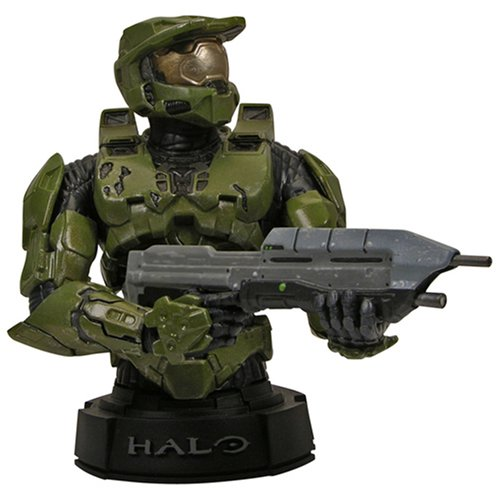 - Halo 3 Master Chief Mini Bust Assortment