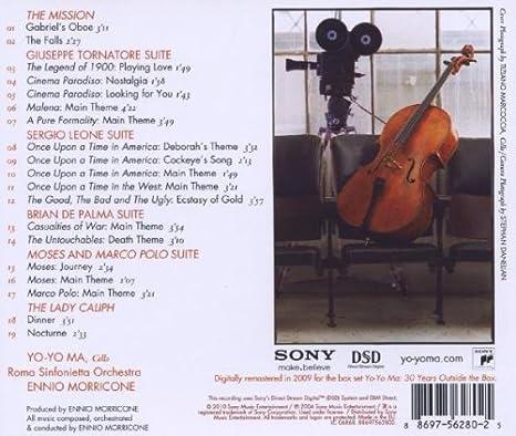 Yo-Yo Ma Plays Ennio Morricone: Yo-Yo Ma: Amazon.es: Música