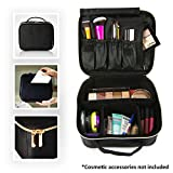 BEAUTYBOX Travel Makeup Bag Cosmetic Bag Toiletry Bag for Women Deal (Small Image)