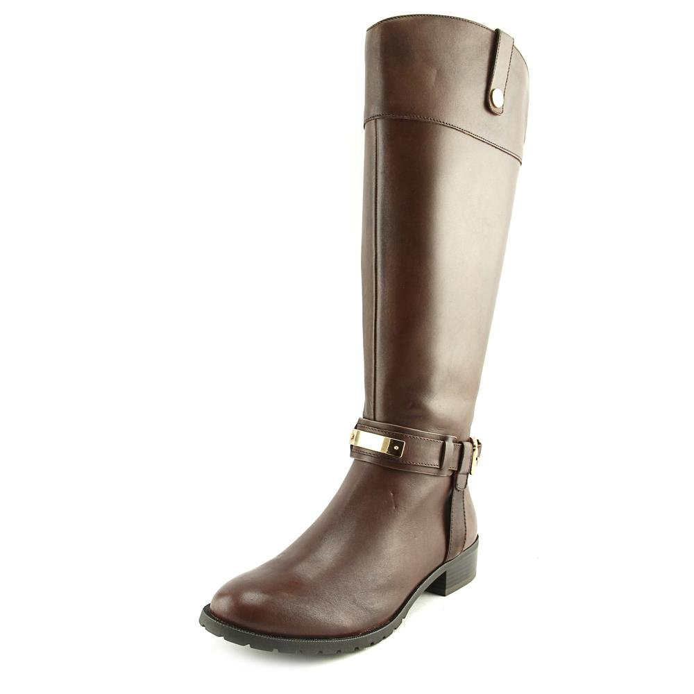 INC International Concepts Fabbaa Rund Leder Mode Mitte Calf Stiefel39.5 EU / 8.5 US Frauen|Cappuccino