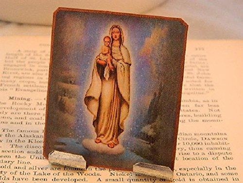 Portable Altar Our Lady of the Snows Meditation Altar Prayer Devotion Desk Accessory by Sarah Collins Studio