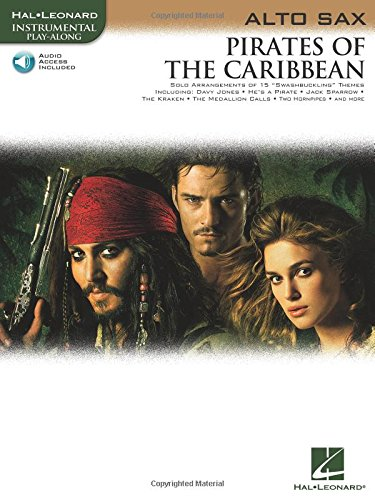 Pirates of the Caribbean: for Alto Sax (Hal Leonard Instrumental Play-Along)