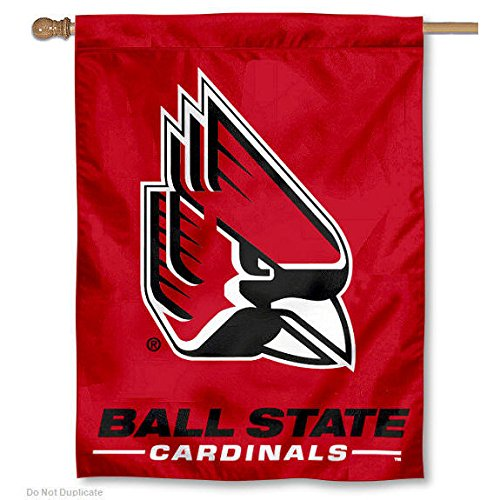 Ball State Cardinals New Logo House Flag Banner
