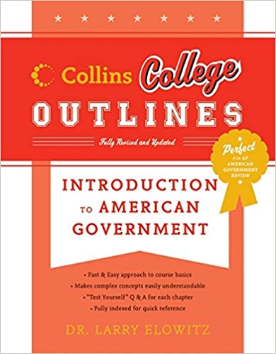 Amazon introduction to american government collins college introduction to american government collins college outlines 2nd ed edition fandeluxe Gallery