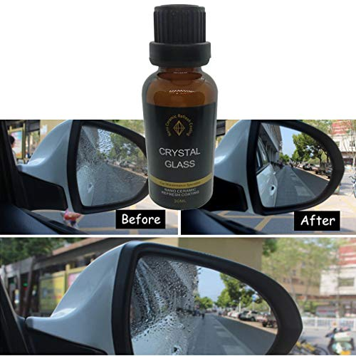 (Baomabao Coating Solution, Automotive Glass Coating Hydrophobic Coating Beauty Care Multifunctional Car Nano Glass Hydrophobic Coating Rainproof Agent 30ML)