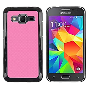 Exotic-Star ( Cute pink texture ) Fundas Cover Cubre Hard Case Cover para Samsung Galaxy Core Prime / SM-G360