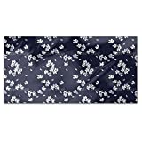 Cherry Blossoms At Night Rectangle Tablecloth: Medium