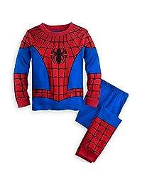 GERGER BO Spiderman Pajamas,Boys Pajamas Kids 100% Cotton Cartoon Sleepwears